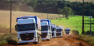 não interfere no preço do setor agropecuário. Segundo ele, graças à demanda, o valor praticado para transporte rodoviário