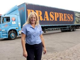 Braspress, tradicional empresa de Encomendas, é uma das pioneiras na contratação de mulheres para dirigir seus caminhões. Além disso, a transportadora