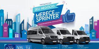 Durante o mês de março, a Mercedes-Benz oferece condições especiais para compra dos modelos da Linha Sprinter: Furgão 314 CDI STREET, Chassi 314 CDI STREET