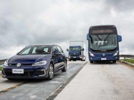 A VW Caminhões e Ônibus aposta na sinergia com os automóveis para avançar depressa no desenvolvimento de veículos elétricos. Dessa forma, a montadora