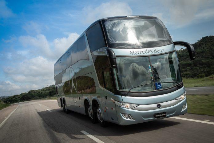 Mesmo em meio ao caos que assola o transporte rodoviário de passageiros, por causa da Covid-19 que derrubou quase a zero a demanda, a Mercedes-Benz