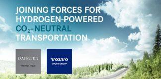 O Grupo Daimler e o Grupo Volvo assinaram um acordo preliminar não vinculativo para a criação de uma nova joint venture. Assim, a intenção é desenvolver,