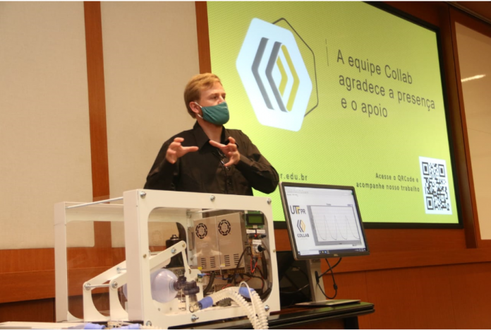 A DAF Caminhões Brasil está apoiando uma iniciativa da UTFPR (Universidade Tecnológica Federal do Paraná) na construção de um protótipo de respirador