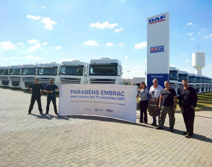 A DAF Caminhões Brasil acaba comercializar o caminhão nove mil, produzido em sua fábrica de Ponta Grossa (PR). Assim, a venda do veículo foi
