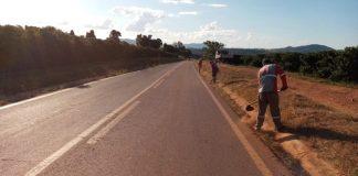 O Departamento Nacional de Infraestrutura de Transportes (DNIT) segue com as obras de manutenção rodoviária em Minas Gerais.