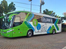 A fabricante de veículos 100% elétricos BYD concluiu a homologação da carroceria do ônibus de fretamento BYD D9F. Assim, agora, o modelo