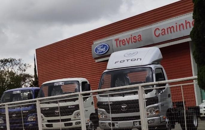 A Foton ampliou sua rede de concessionárias agregando diversas revendas que atendiam a marca Ford Caminhões no Brasil. Dessa forma, a transição