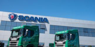 A Scania comemorou hoje (28) a entrega dos primeiros caminhões movidos a gás natural veicular (GNV) e/ou biometano do Brasil.