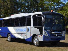 A Automade Transportes, empresa especializada no transporte fretado de passageiros, adquiriu seis unidades do Foz Super 2500, produzido pela Caio Induscar