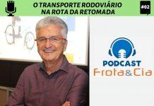 José Augusto Ferraz e Solange Sebrian conversam com o presidente do Grupo RTE Rodonaves, o empresário João Neves, no segundo programa