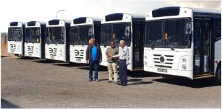 A VWCO acaba de finalizar a negociação para venda de 30 Volksbus para a empresa de transporte de passageiros Ke Matete Transport, na Africa do Sul.