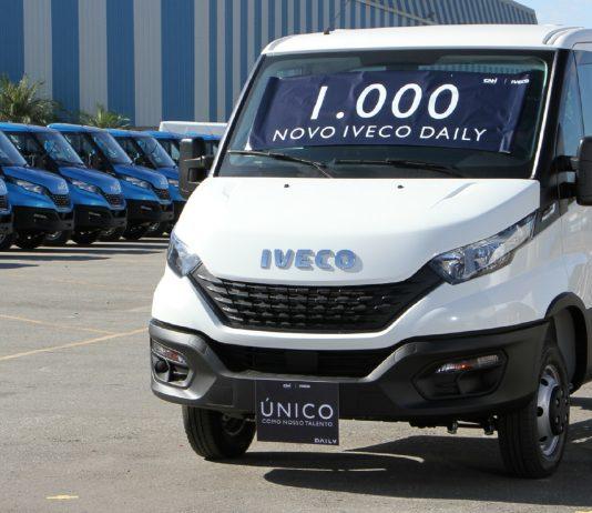 A linha Daily acaba de chegar à marca de mil unidades produzidas. Disponível no Brasil desde 1997, a Iveco apresentou recentemente o Novo IVECO Daily,