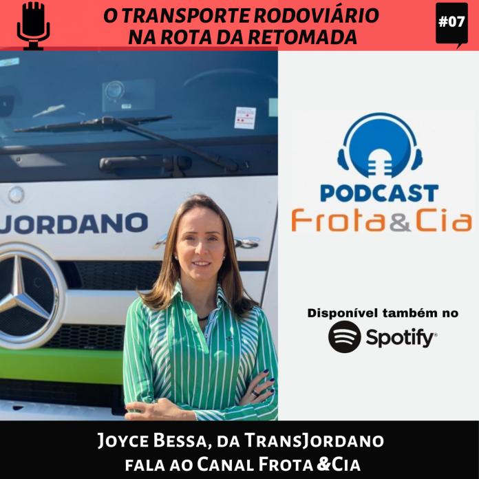 A jovem empresária Joyce Bessa, da TransJordano, é a nossa entrevistada do dia.