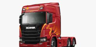 Em comemoração aos 63 anos de presença oficial no Brasil, a Scania está lançando uma edição especial de caminhões da marca.