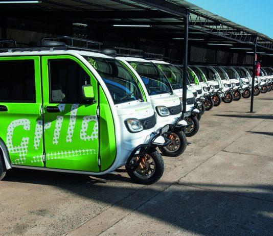 No sábado (11), entrou em operação o serviço de transporte GriloMobilidade em Porto Alegre. Assim, a ideia é focar em distâncias curtas percorridas