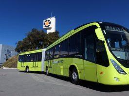 Juntamente com a Volvo, a Marcopolo exportará 20 ônibus articulados para o sistema de BRT da Guatemala. Dessa forma, o Transmetro amplia