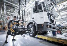 A produção de caminhões em julho de 2020 foi de 6.820 unidades, com alta de 22,3% ante as 5.757 produzidas em junho. No entanto, mesmo com o resultado
