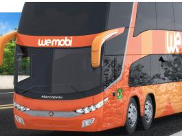 A Wemobi, empresa de ônibus com experiência 100% digital, anuncia uma promoção de até 35% de desconto na compra de passagens de ônibus para celebrar
