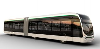 A Marcopolo apresenta o Attivi Express, modelo de carroceria urbana articulada e dedicada à chassis de propulsão elétrica para corredores troncais