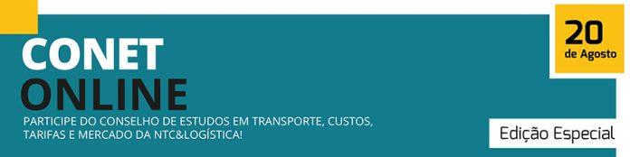 O Conet, Conselho de estudos em transportes, organizado pela NTC&Logística, acontecerá online e no próximo dia 20 de agosto. Dessa forma, nesta edição,