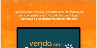 A Marcopolo acaba de lançar o site Vendaseuonibus.com.br . Assim, com objetivo de compra e venda de veículos Marcopolo seminovos e venda de modelos