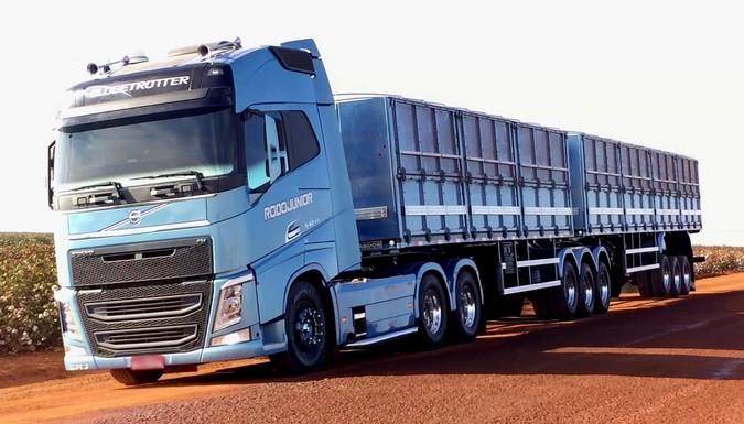 A Volvo acaba de concretizar mais uma importante negociação vendendo 150 novos FH para a RodoJunior Logística. O conjunto contempla as versões 540 6×4 e