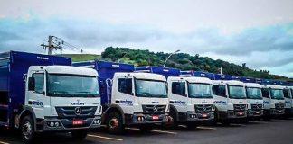 A Mercedes-Benz acaba de fechar um contrato para fornecer 450 caminhões para a gigante de bebidas Ambev. Dessa forma, a montadora
