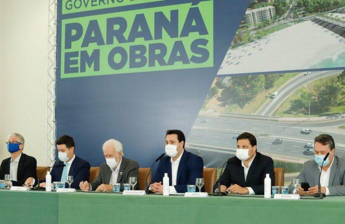 O Governo do Paraná anunciou nesta quarta-feira (16) um programa de investimentos em infraestrutura avaliado em R$ 4 bilhões.