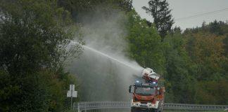 A Magirus apresenta ao mercado o novo veículo de combate a incêndio, o TLF AirCore que combina a tecnologia AirCore - tecnologia de névoa de água.