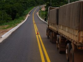 A concessão do trecho da rodovia BR-163 entre Sinop (MT) e Miritituba (PA) deverá elevar o preço do frete