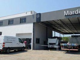 A Mercedes-Benz acaba de lançar o Truck Center, uma estrutura inédita e funcional de peças e serviços para atendimento rápido em postos de combustíveis.