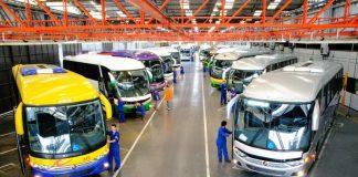 A fabricante de ônibusMarcopoloinformou nesta sexta-feira, 2, que vai encerrar as atividades de sua fábrica localizada emDuque de Caxias