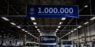 A VWCO - Volkswagen Caminhões e Ônibus atingiu a marca de 1 milhão de veículos produzidos no país. Assim, o milionésimo veículo produzido pela montadora