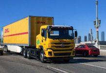 A DHL começou a usar as primeiras unidades do caminhão elétrico BYD 8TT, nos Estados Unidos. Assim, o cavalo-mecânico com capacidade para tracionar até 37 toneladas