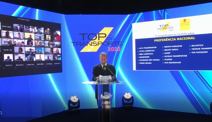 As SFCom e o Grupo Logweb, que produzem as revistas Frota&Cia e Logweb, realizaram no último dia 26 de outubro a cerimônia de entrega do Top do Transporte 2020.