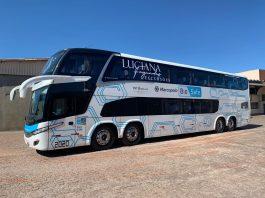 A JG Tour e Viagens, empresa de turismo de Curitiba, é a primeira operadora de transporte rodoviário do Brasil a incorporar à sua frota um ônibus Marcopolo Paradiso