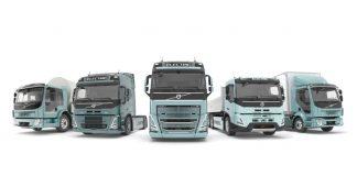 A Volvo anunciou que a partir de 2021 os clientes poderão encomendar versões elétricas dos caminhões pesados FH