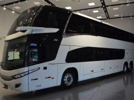 A Marcopolo acaba de lançar o primeiro ônibus rodoviário com a tecnologia ERV - Espelho de Reflexão Virtual. Assim, a nova tecnologia, disponível para todos