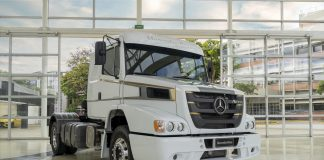 A Mercedes-Benz do Brasil lançou ontem, 8 de dezembro, em seu Showroom Virtual Star Online, uma Edição Especial do extrapesado Atron 1635