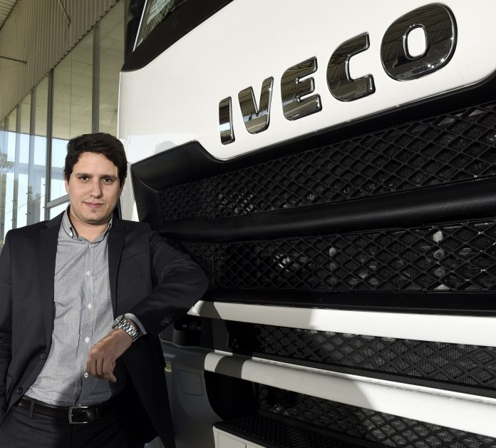 Na IVECO há 10 anos, Bernardo Pereira é o novo diretor de Marketing da marca para a América do Sul. Formado em Administração, com especialização em