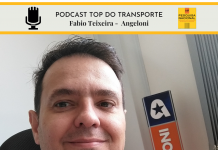 Da Angeloni, Fabio Teixeira falou com o Podcast Top do Transporte.