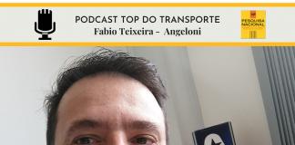 Da Angeloni, Fabio Teixeira falou com o Podcast Top do Transporte.