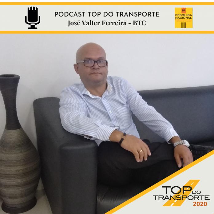 José Valter, gerente de logística da BTC decorações é o entrevistado do Canal Top do Transporte.