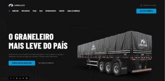 A Librelato, fabricante de implementos rodoviários, lançou um novo site com conteúdo projetado para intensificar a familiarização com os
