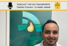 Vinicius Teixeira, supervisor de logística da JA Saúde animal fala com o Canal e podcast Top do transporte