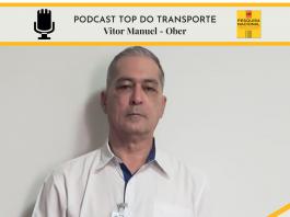 Vitor Abreu, gerente de logística da Ober é o entrevistado do dia no Top do Transporte