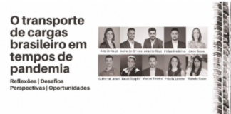 """Dez empresários do setor de transporte se reuniram para o desenvolvimento de um livro """"O Transporte de cargas brasileiro em tempos de pandemia""""."""