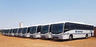 A Sertran Transportes, empresa de fretamento de colaboradores do segmento sucroenergético, acaba de adquirir 11 Volksbus 17.230 ODS
