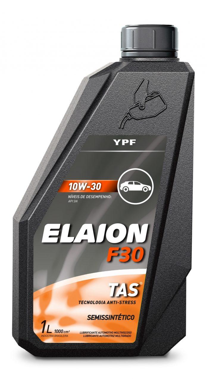 A YPF Brasil, empresa de energia, lança o lubrificante Elaion F30 10W-30. Assim, buscando atender o mercado de reposição e especificações de montadoras japonesas.