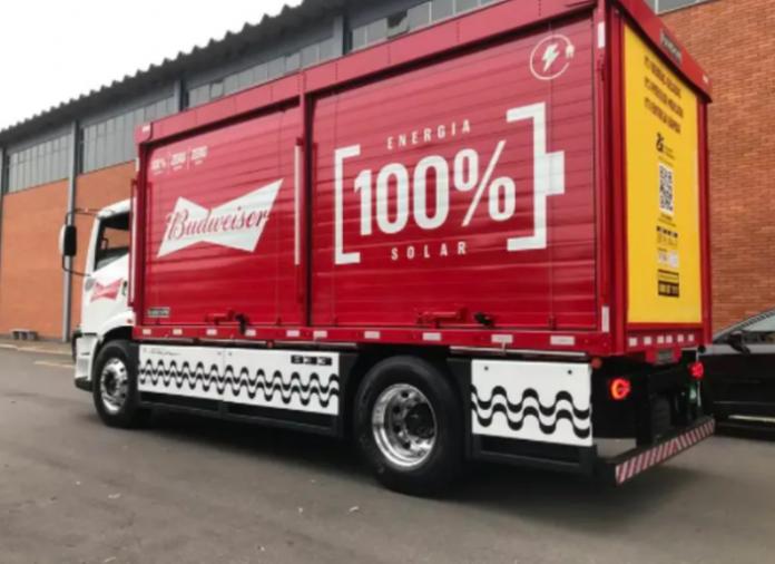 A Ambev acaba de enunciar uma parceria com a startup Fábrica Nacional de Mobilidade (FNM) para a compra de 1 mil caminhões elétricos. Dessa forma,